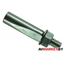 Клин шатуна вело 9,8*40мм ремонтный сталь хром Китай VAL-19964-11