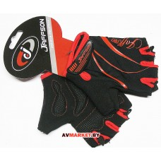 Перчатки JAFFSON SCG 47-0120 M (черный красный) 2517