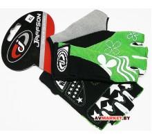 Перчатки JAFFSON SCG 47-0122 XL (черный белый зеленый) 5077