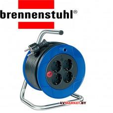 Удлинитель на катушке 15 м (4 роз, 3.5 кВт с/з Brennenstuhl Compasct Германия
